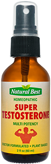 Super Testosterone - Naturlige Oral Spray 60ml