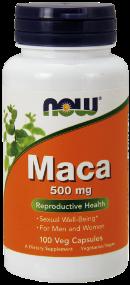 Maca 500 mg -- 100 Kapsler