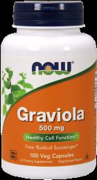 Graviola 500 mg - 100 Capsules