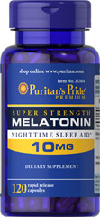 Melatonin 10 mg - 120 Capsules