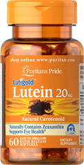 Lutein 20 mg - Zeaxanthin - 60 Softgels