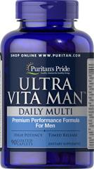 Ultra Man - Multivitamin  (Timed Release) 90 Tablets