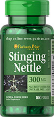 Stinging Nettle - Pokrzywa 300 mg 100 kapsulek