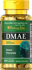 DMAE 100 mg 100 kapsulek