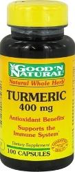 Turmeric - Cúrcuma 400 mg 100 Cápsulas