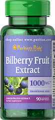 Bilberry - Blåbär 1000 mg 90 Softgels