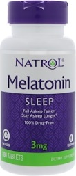 Melatonin TR 3 mg Time Release - 100 Tablets