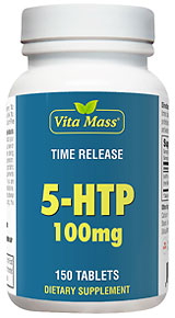 5-HTP 100 mg TR Time Release - 150 Tablets