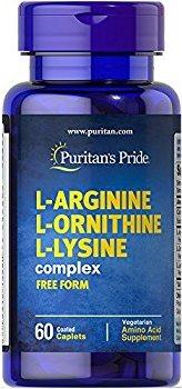 L-Arginin L-Ornithin L-Lysin 60 Tabletter