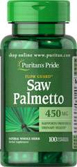 Saw Palmetto 450 mg 100 Capsules