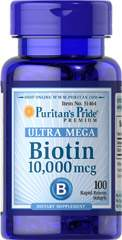 Biotin 10.000 mcg 100 Softgels