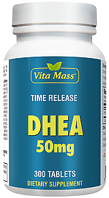 DHEA 50 mg TR Time Release 300 Tablets