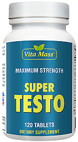 Super Testo - Maximum Strength - 120 Tablets