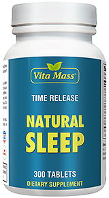 Natural Sleep - TR Time Release - 300 Tablets