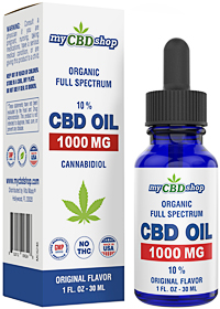 CBD OIL - Full Spectrum - Organic - 1000 MG - 10 - 30ML
