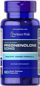 Pregnenolone 50 mg - 90 Capsules
