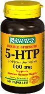 5HTP 100 mg 120 Capsules Good n Natural