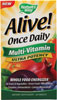 Alive Once Daily Multi-Vitamin Ultra Potency 60 Tabletten