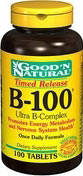 Vitamin B-100 Ultra B-Complex Timed Release 100 Tablets