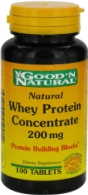 Natural Whey Protein 20g -100 Tablets