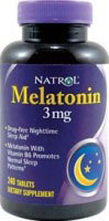 Melatonina Natrol 3 mg 240 Tabletek