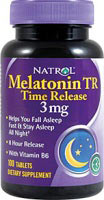 Melatonin TR 3 mg Time Release - 100 Tabletter